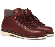 Laax Full-grain Leather Boots