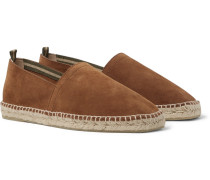 Pablo Suede Espadrilles - Light brown