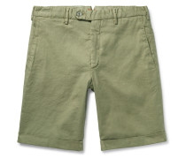 Chase Stretch Linen and Cotton-Blend Shorts