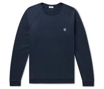 Vincent Fleece-Back Cotton-Jersey Sweatshirt