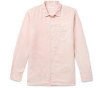 Cotton and Linen-Blend Shirt