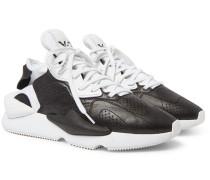 Kaiwa Leather and Neoprene Sneakers
