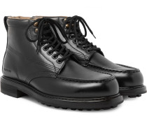 Cromwell Leather Hiking Boots - Black