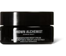 Regenerating Night Cream - Neuro-Peptide & Violet Leaf Extract, 40ml