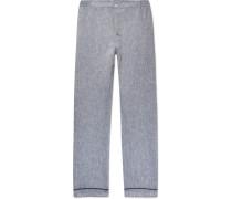 Marcel Slub Linen Pyjama Trousers