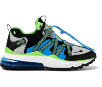 Air Max 270 Bowfin Mesh And Nylon Sneakers - Blue