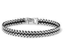 Sterling Silver and Nylon Bracelet