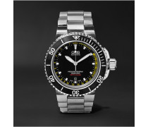 Aquis Depth Gauge Stainless Steel Watch