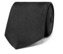 8cm Embroidered Silk-faille Tie