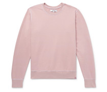 Loopback Cotton-jersey Sweatshirt - Pink