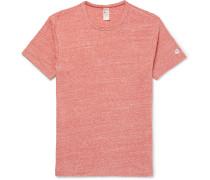 Mélange Slub Cotton-blend Jersey T-shirt