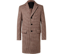 Houndstooth Virgin Wool Coat