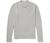 Loopback Supima Cotton-jersey Sweatshirt - Gray