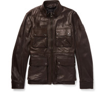 Slim-fit Leather Jacket