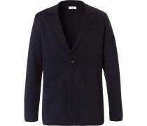 Navy Milano Merino Wool Blazer
