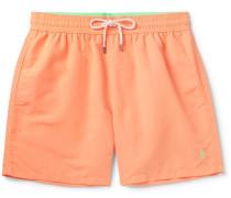 Mid-length Swim Shorts - Orange
