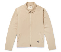 Gabe Cotton-blend Blouson Jacket - Sand