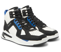 B-Ball Leather Sneakers