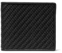 Pelle Tessuta Leather Billfold Wallet - Black