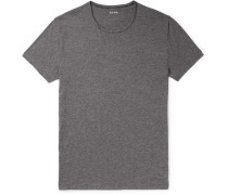 Mélange Pima Cotton-jersey T-shirt