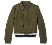 Wool Blouson Jacket