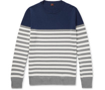 Cézanne Slim-fit Striped Cashmere Sweater