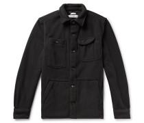 Polartec Fleece Shirt Jacket - Black
