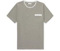 Danbury Striped Cotton-Jersey T-Shirt