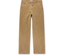 Cotton-moleskin Trousers
