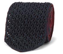 6cm Reversible Knitted Silk Tie
