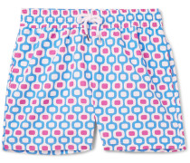 Ipanema Slim-fit Long-length Printed Swim Shorts