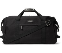 Norfolk Cotton-canvas Holdall - Black