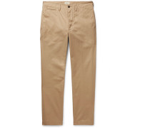 Dunabeste Tapered Cotton-twill Trousers
