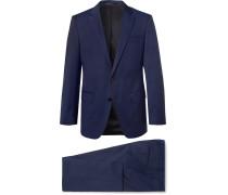 Navy Huge/genius Slim-fit Super 120s Virgin Wool Suit - Navy