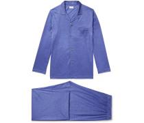 Bari Checked Cotton Pyjama Set