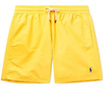 Traveller Mid-length Swim Shorts - Yellow