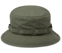Cotton-Blend Ripstop Bucket Hat