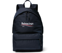 Explorer Embroidered Canvas Backpack