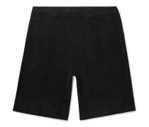 Cotton-Terry Drawstring Shorts