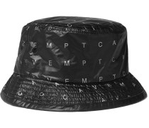 Array Logo-print Ripstop-shell Bucket Hat - Black