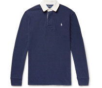 Contrast-trimmed Cotton-jersey Polo Shirt