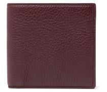 Burlington Full-grain Leather Billfold Wallet - Red