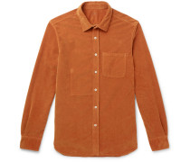 Stretch-cotton Corduroy Shirt