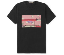 Limited Edition Roy Rebirth Printed Cotton-Jersey T-Shirt