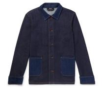 Cotton-Blend Denim Chore Jacket