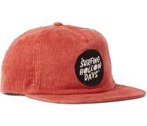 Logo-Appliquéd Hemp and Organic Cotton-Blend Corduroy Baseball Cap