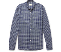 Clerkenwell Checked Brushed-cotton Shirt