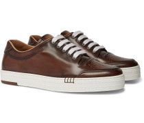 Playtime Leather Sneakers - Brown
