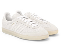 Samba Brushed-suede Sneakers - Off-white