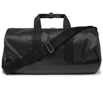 Leather-Trimmed Ripstop Holdall